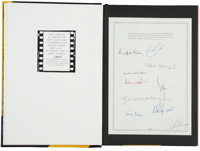 Michael Cooper Blinds & Shutters Signed Limited Edition Volume (Genesis/Hedley, 1990).</