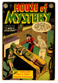 Golden Age (1938-1955):Horror, House of Mystery #2 (DC, 1952) Condition: GD....