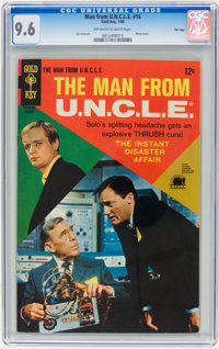 Man from U.N.C.L.E. #16 File Copy (Gold Key, 1968) CGC NM+ 9.6 Off-white to white pages