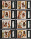 """Non-Sport Cards:Lots, 1888 N36 Allen & Ginter """"The American Indian"""" SGC-Graded Group of (19)...."""