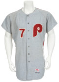 Baseball Collectibles:Uniforms, 1970 Mike Compton Game Worn Jersey....