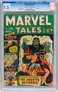 Golden Age (1938-1955):Horror, Marvel Tales #96 (Atlas, 1950) CGC VF- 7.5 Cream to off-whitepages....