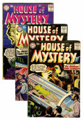 Silver Age (1956-1969):Horror, House of Mystery Group (DC, 1957-60) Condition: Average VG....(Total: 6 Comic Books)