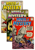 Silver Age (1956-1969):Horror, House of Mystery Group (DC, 1959-61) Condition: Average FN-....(Total: 4 Comic Books)