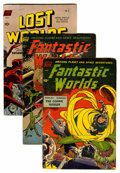Golden Age (1938-1955):Science Fiction, Science Fiction Comics Group (Various Publishers, 1951-53)Condition: Average VG-.... (Total: 5 Comic Books)