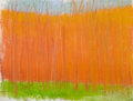 Fine Art - Work on Paper:Drawing, WOLF KAHN (American, b. 1927). Orange, 2003. Pastel onpaper. 9 x 11-1/2 inches (22.9 x 29.2 cm) window. Signed lowerce...