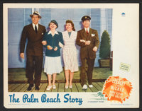 """The Palm Beach Story (Paramount, 1942). Lobby Cards (3) (11"""" X 14""""). Comedy. ... (Total: 3 Items)"""