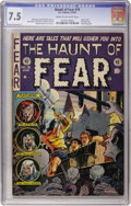Golden Age (1938-1955):Horror, Haunt of Fear #19 (EC, 1953) CGC VF- 7.5 Cream to off-whitepages....