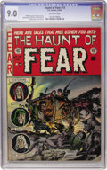 Golden Age (1938-1955):Horror, Haunt of Fear #13 (EC, 1952) CGC VF/NM 9.0 Off-white pages....