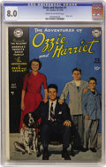 Golden Age (1938-1955):Horror, Ozzie and Harriet #1 (DC, 1949) CGC VF 8.0 Cream to off-whitepages....