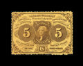 Fractional Currency:First Issue, Fr. 1228 5¢ First Issue Gem New....