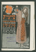 """Movie Posters:Drama, The Little Gypsy Lot (Fox, 1915). Heralds (2) (5.5"""" X 8""""). Drama.. ... (Total: 2 Items)"""
