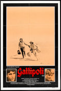 "Movie Posters:War, Gallipoli (Roadshow, 1981). Australian One Sheet (26.5"" X 40"").War.. ..."