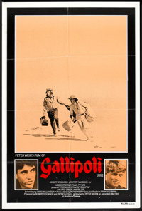 "Gallipoli (Roadshow, 1981). Australian One Sheet (26.5"" X 40""). War"