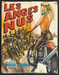 """Movie Posters:Bad Girl, Naked Angels (Alpha France, 1970). French Affiche (22.25"""" X 29.5"""").Bad Girl.. ..."""