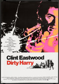 """Movie Posters:Crime, Dirty Harry (Warner Brothers, 1971). German A1 (23.25"""" X 33"""").Crime.. ..."""