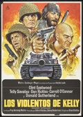"""Movie Posters:War, Kelly's Heroes (MGM, R-1981). Spanish One Sheet (27.5"""" X 39.5""""). War.. ..."""