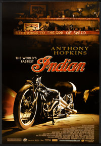 """The World's Fastest Indian (Magnolia Pictures, 2005). One Sheet (27"""" X 40"""") SS. Adventure"""