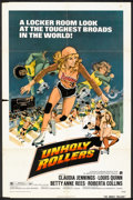 """Movie Posters:Bad Girl, Unholy Rollers (American International, 1972). One Sheet (27"""" X41""""). Bad Girl.. ..."""