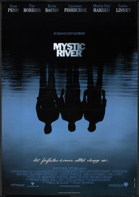 """Mystic River (Warner Brothers, 2003). Swedish One Sheet (27.5"""" X 39.5"""") DS. Crime"""