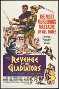 """Movie Posters:Action, Revenge of the Gladiators Lot (American International, 1964). One Sheets (3) (27"""" X 41""""). Action.. ... (Total: 3 Items)"""