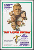 "Movie Posters:War, Cast a Giant Shadow (United Artists, 1966). One Sheet (27"" X 41"").War.. ..."