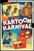 "Movie Posters:Animated, Kartoon Karnival (MGM, 1954). One Sheet (27"" X 41""). Animated.. ..."