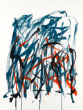 Fine Art - Work on Paper:Print, JOAN MITCHELL (American, 1926-1992). Brush, 1981. Lithographin colors on paper. 42-1/2 x 32-1/2 inches (108.0 x 82.6 cm...