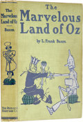 Books:Children's Books, L. Frank Baum. The Marvelous Land of Oz. Chicago: Reilly& Britton Co., 1904.. First edition. Quarto. 287 pages. I...