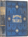 Books:First Editions, Mark Twain. The Adventures of Tom Sawyer. Hartford: TheAmerican Publishing Company, 1876.. First edition, second ...