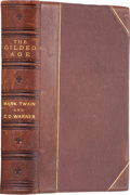 Books:First Editions, Mark Twain and Charles Dudley Warner. The Gilded Age.Hartford: American Publishing Company, 1874.. First edition,...