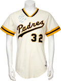 Baseball Collectibles:Uniforms, 1977 Ozzie Smith Minor League Game Worn Jersey....