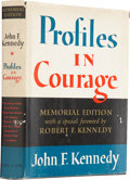 Books:Signed Editions, John F. Kennedy. Profiles in Courage. New York: Harper &Row, [1964]. Signed by Robert F. Kennedy. Very good...