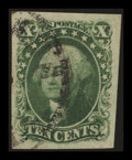Stamps, 10c Green (14),...