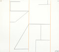 Fine Art - Work on Paper:Drawing, KEITH SONNIER (American, b. 1941). Untitled, 5, 1970. Crayonon paper. 20 x 22-1/2 inches (50.8 x 57.2 cm). Initialed an...