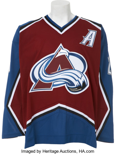 2004 Peter Forsberg Promotional Game Worn Jersey.... Hockey  0a5ae26d874