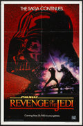 "Movie Posters:Science Fiction, Revenge of the Jedi (20th Century Fox, 1982). One Sheet (27"" X 41"")Advance ""Dated Style"". Science Fiction.. ..."