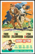 "Movie Posters:War, Never So Few (MGM, 1959). International One Sheet (27"" X 41"").War.. ..."