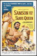 "Movie Posters:Action, Samson and the Slave Queen (American International, 1964). OneSheet (27"" X 41"") and Lobby Card Set of 8 (11"" X 14""). Action...(Total: 9 Items)"
