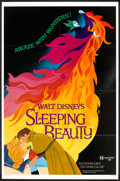 "Movie Posters:Animated, Sleeping Beauty Lot (Buena Vista, R-1979). One Sheet (27"" X 41"")and Pressbook (Multiple Pages) (10.5"" X 14""). Animated.. ...(Total: 2 Items)"