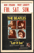"""Movie Posters:Rock and Roll, Let It Be (United Artists, 1970). Window Card (14"""" X 22""""). Rock andRoll.. ..."""