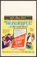 "Movie Posters:Fantasy, The Wonderful World of the Brothers Grimm (MGM, 1962). Window Card(14"" X 22""). Fantasy.. ..."