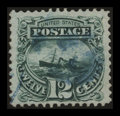 Stamps, 12c Green (117),...
