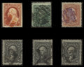 Stamps, 3c - 12c (11A//97),...