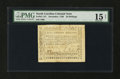 Colonial Notes:North Carolina, North Carolina December, 1768 20s PMG Choice Fine 15 Net....