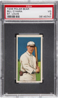 Baseball Cards:Singles (Pre-1930), 1909-11 T206 Polar Bear Bill O'Hara, St. Louis PSA VG 3....