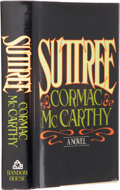 Books:First Editions, Cormac McCarthy. Suttree. New York: Random House, 1979..First edition. Octavo. 471 pages.. Black cloth over...