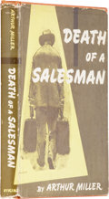 Books:First Editions, Arthur Miller. Death of a Salesman. New York: Viking Press,1949.. First edition. Signed by Miller on the titl...