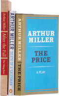 Books:Signed Editions, Arthur Miller. Three Signed Plays, including: After the Fall. New York: Viking Press, 1964. First edition, limited t... (Total: 3 Items)