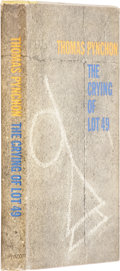 Books:First Editions, Thomas Pynchon. The Crying of Lot 49. Philadelphia: J. B.Lippincott, 1965. First edition. Very good....